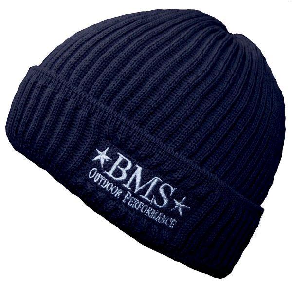 BMS Strickmütze marine