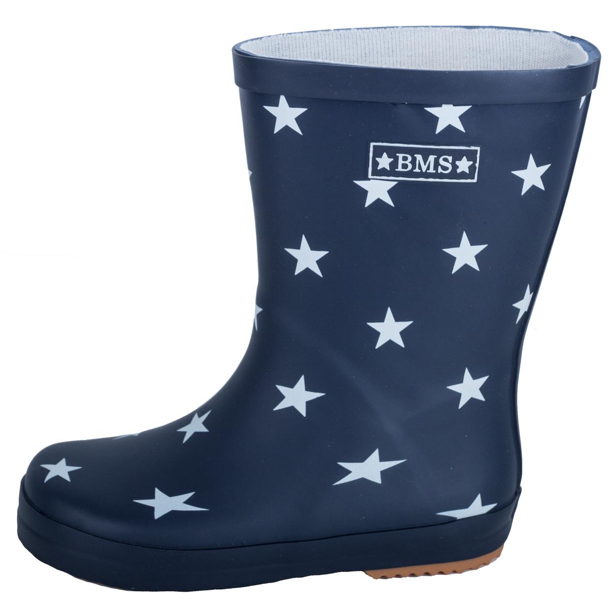 promo code ac318 5880a Gummistiefel in marine mit Sternen