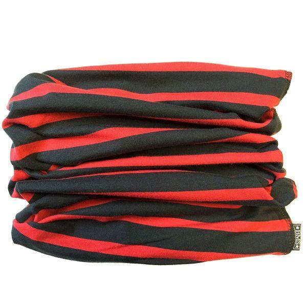 magic scarf - Schlauchschal - marine/rot