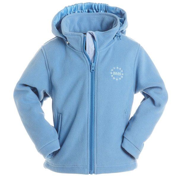 Kapuzenjacke Antarctic Clima-Fleece - hellblau