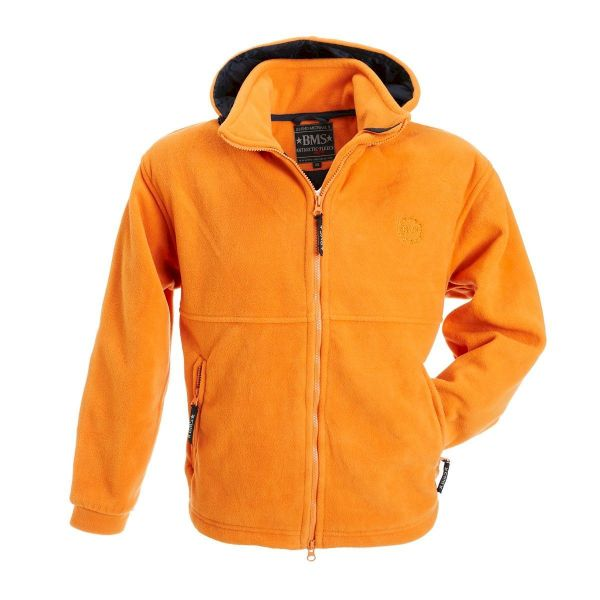 Kapuzenjacke Clime-Fleece - orange