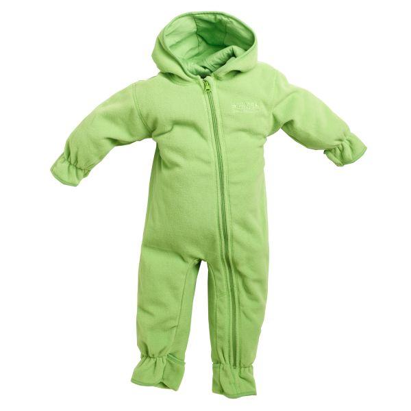 BMS Fleeceoverall für Babys - limette
