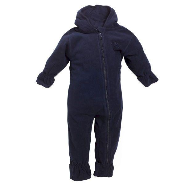 BMS Baby Overall Fleece - marine