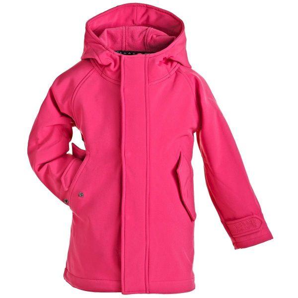 HafenCity Coat SoftShell - pink