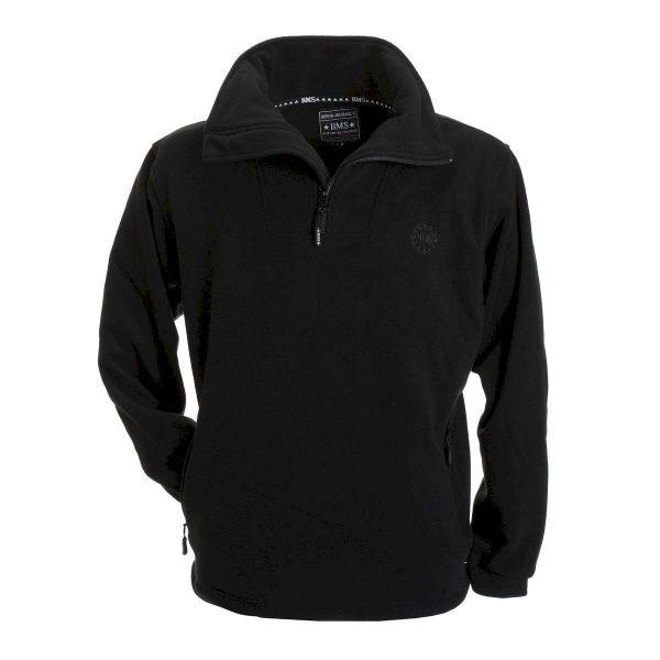 BMS Fleecepullover - schwarz
