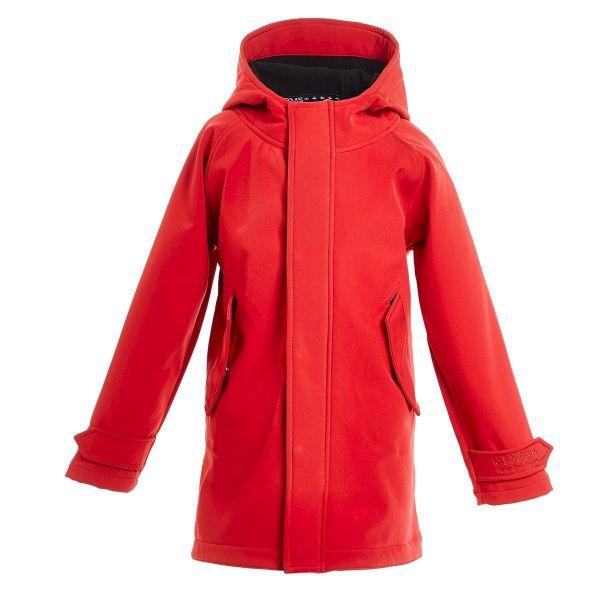 HafenCity Coat SoftShell - rot