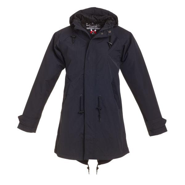 HafenCity Coat SoftLan Damenmantel - schwarz