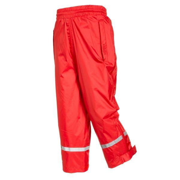 Regenhose für Kinder - atmungsaktiv rot