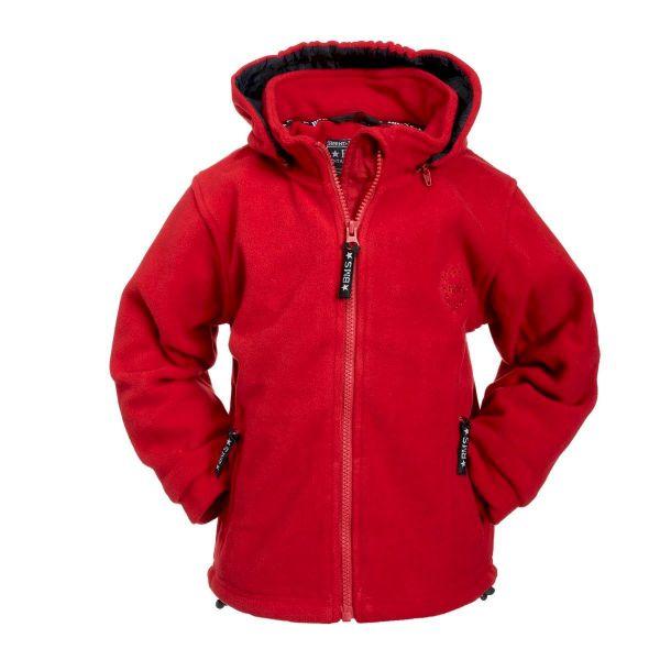Kapuzenjacke Antarctic Clima-Fleece - rot